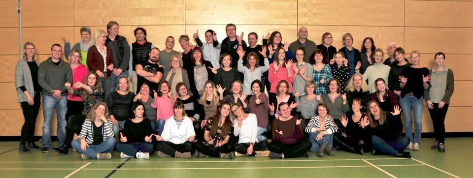 Kollegium der Steinwald-Schule vom November 2018.