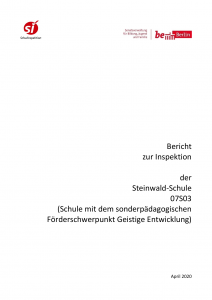 Bericht zur Schulinspektion in der Steinwald-Schule 2019